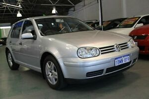 2004 Volkswagen Golf 1.6 Generation Silver 5 Speed Manual Hatchback Victoria Park Victoria Park Area Preview