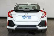 2018 Honda Civic 10th Gen MY18 VTi-S White 1 Speed Constant Variable Hatchback Victoria Park Victoria Park Area Preview