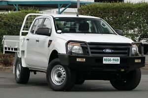 2012 Ford Ranger PX XL Double Cab 4x2 Hi-Rider White 6 Speed Manual Utility Acacia Ridge Brisbane South West Preview
