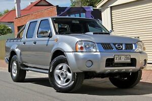 2008 Nissan Navara D22 MY2008 ST-R Grey 5 Speed Manual Utility Glenelg Holdfast Bay Preview