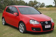2008 Volkswagen Golf V MY08 GTI DSG Red 6 Speed Sports Automatic Dual Clutch Hatchback Bundaberg West Bundaberg City Preview