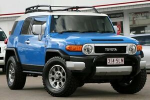 2012 Toyota FJ Cruiser GSJ15R Voodoo Blue 5 Speed Automatic Wagon Woolloongabba Brisbane South West Preview