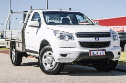 2012 Holden Colorado RG MY13 LX White 5 Speed Manual Cab Chassis East Rockingham Rockingham Area Preview