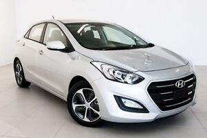 2016 Hyundai i30 GD4 Series II MY17 Active X Platinum Silver 6 Speed Sports Automatic Hatchback Townsville Townsville City Preview