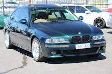 1997 BMW 540i E39 Steptronic Green 5 Speed Sports Automatic Sedan Heatherton Kingston Area Preview