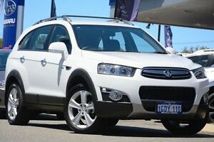 2011 Holden Captiva CG Series II 7 AWD LX White 6 Speed Sports Automatic Wagon Willagee Melville Area Preview
