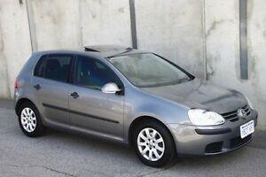 2005 Volkswagen Golf V Comfortline Grey 5 Speed Manual Hatchback Mount Hawthorn Vincent Area Preview