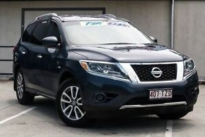 2013 Nissan Pathfinder R52 MY14 ST X-tronic 2WD Blue 1 Speed Constant Variable Wagon Springwood Logan Area Preview