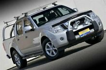 2013 Nissan Navara D40 S6 MY12 ST 4x2 Silver 6 Speed Manual Utility Ferntree Gully Knox Area Preview