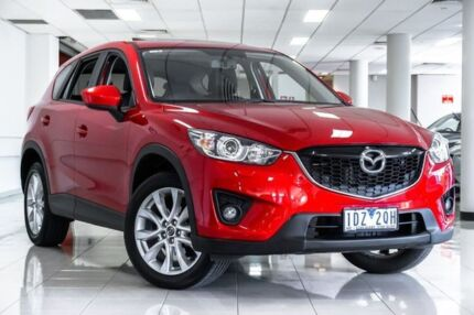 2014 Mazda CX-5 KE1031 MY14 Grand Touring SKYACTIV-Drive AWD Soul Red 6 Speed Sports Automatic Wagon South Melbourne Port Phillip Preview
