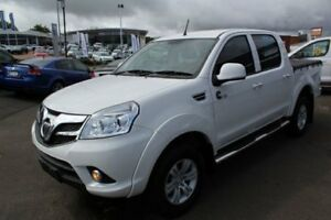 2014 Foton Tunland P201 White 5 Speed Manual Utility