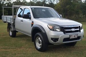 2010 Ford Ranger PK XL Super Cab Hi-Rider Silver 5 Speed Manual Utility Bundaberg West Bundaberg City Preview