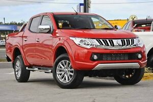 2016 Mitsubishi Triton MQ MY16 GLS Double Cab Red 5 Speed Sports Automatic Utility Mount Gravatt Brisbane South East Preview