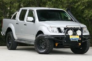 2012 Nissan Navara D40 S5 MY12 ST-X Silver 7 Speed Sports Automatic Utility Ferntree Gully Knox Area Preview