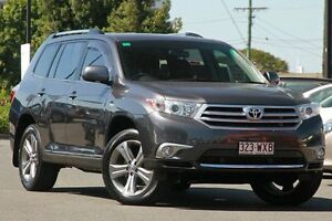 2010 Toyota Kluger GSU40R MY11 KX-S 2WD Graphite 5 Speed Sports Automatic Wagon Macgregor Brisbane South West Preview