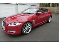 Low mileage Jaguar Premium Luxury XF 3 litre Sports