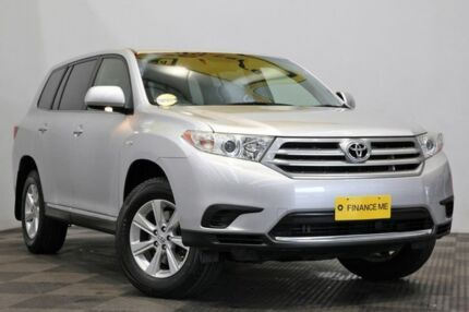 2012 Toyota Kluger GSU40R MY12 KX-R 2WD Silver 5 Speed Sports Automatic Wagon Seven Hills Blacktown Area Preview