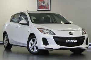 2012 Mazda 3 BL10F2 Neo Activematic White 5 Speed Sports Automatic Hatchback Chatswood Willoughby Area Preview