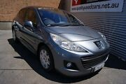 2009 Peugeot 207 XT HDI Grey 5 Speed Manual Hatchback Blair Athol Port Adelaide Area Preview