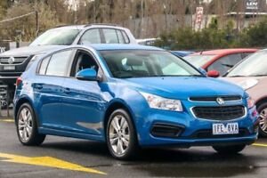 2015 Holden Cruze JH Series II MY15 Equipe Blue 6 Speed Sports Automatic Hatchback Ringwood East Maroondah Area Preview
