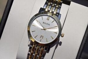 Bulova Men's 98B221 Analog Display Japanese Quartz Watch*