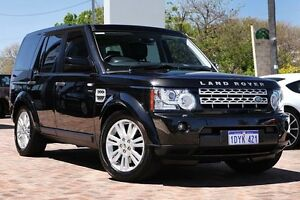 2012 Land Rover Discovery 4 Series 4 L319 MY13 SDV6 SE Black 8 Speed Sports Automatic Wagon Osborne Park Stirling Area Preview