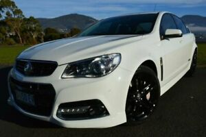 2015 Holden Commodore VF MY15 SS V Redline White 6 Speed Sports Automatic Sedan Derwent Park Glenorchy Area Preview