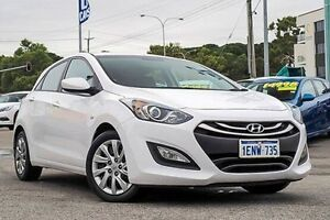 2014 Hyundai i30 GD2 Active White 6 Speed Manual Hatchback Myaree Melville Area Preview