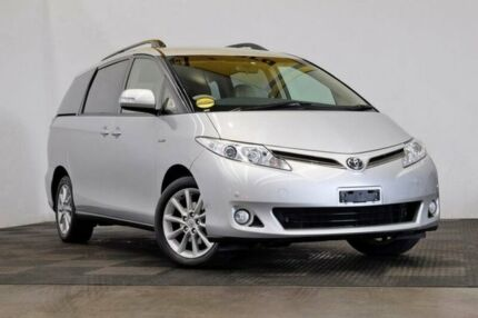 2014 Toyota Tarago GSR50R MY13 GLX Silver 6 Speed Sports Automatic Wagon