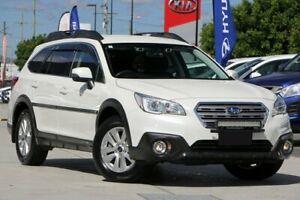 2016 Subaru Outback B6A MY17 2.0D CVT AWD White 7 Speed Constant Variable Wagon Brendale Pine Rivers Area Preview