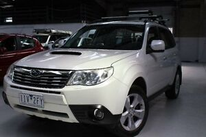 2010 Subaru Forester S3 XT White Sports Automatic Wagon Knoxfield Knox Area Preview