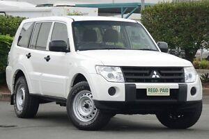 2011 Mitsubishi Pajero NT MY11 GL White 5 Speed Manual Wagon Acacia Ridge Brisbane South West Preview