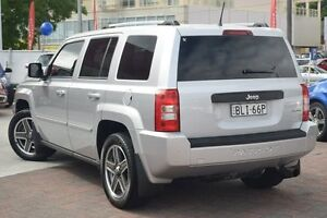 2009 Jeep Patriot MK MY2009 Limited CVT Auto Stick Silver 6 Speed Constant Variable Wagon Waitara Hornsby Area Preview