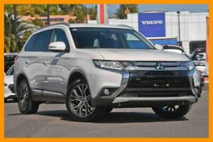 2017 Mitsubishi Outlander ZK MY17 LS 4WD White 6 Speed Constant Variable Wagon Mount Gravatt Brisbane South East Preview