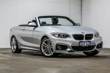 2016 BMW 228I F23 M Sport Silver 8 Speed Sports Automatic Convertible