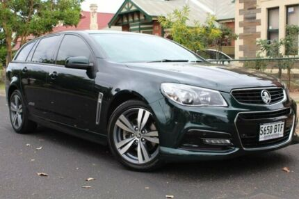 2014 Holden Commodore VF MY15 SS Sportwagon Green 6 Speed Sports Automatic Wagon Thebarton West Torrens Area Preview
