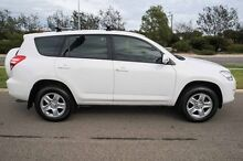 2012 Toyota RAV4 ACA38R MY12 CV 4x2 White 4 Speed Automatic Wagon Mindarie Wanneroo Area Preview