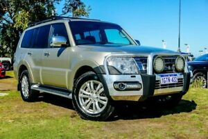 2015 Mitsubishi Pajero NX MY15 GLX Beige 5 Speed Sports Automatic Wagon