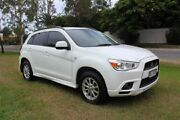 2011 Mitsubishi ASX XA MY12 2WD White 5 Speed Manual Wagon Ormeau Gold Coast North Preview