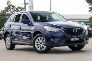 2013 Mazda CX-5 KE1031 MY13 Maxx SKYACTIV-Drive AWD Sport Stormy Blue 6 Speed Sports Automatic Wagon
