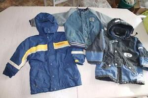 boys size 8 coat lot all 3 coats for $15