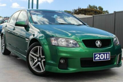 2011 Holden Commodore VE II SV6 Green 6 Speed Auto Seq Sportshift Sedan Craigieburn Hume Area Preview