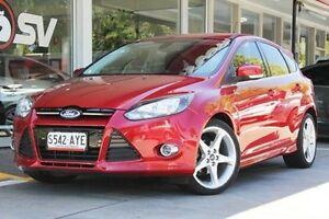 2013 Ford Focus LW MKII Titanium PwrShift Red 6 Speed Sports Automatic Dual Clutch Hatchback Somerton Park Holdfast Bay Preview