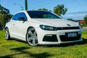 2013 Volkswagen Scirocco 1S MY13.5 R Coupe DSG White 6 Speed Sports Automatic Dual Clutch Hatchback