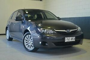 2011 Subaru Impreza G3 MY11 R AWD Grey 5 Speed Manual Hatchback Hillcrest Port Adelaide Area Preview
