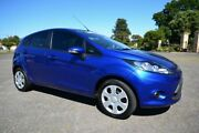 2011 Ford Fiesta WT CL Blue 5 Speed Manual Hatchback Blair Athol Port Adelaide Area Preview