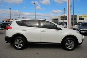 2014 Toyota RAV4 White Constant Variable Wagon St James Victoria Park Area Preview