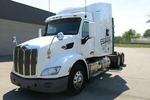 PETERBILT, 579, TRACTOR TRAILER WITH WARRANTY $84900 OBO