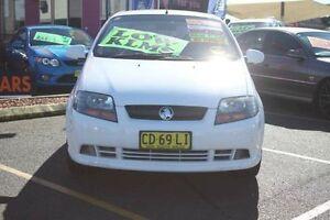 2006 Holden Barina TK MY07 White 4 Speed Automatic Hatchback Minchinbury Blacktown Area Preview