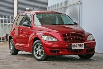 2004 Chrysler PT Cruiser PG MY2004 Classic Red 4 Speed Automatic Wagon Springwood Logan Area Preview